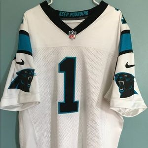 Carolina Panthers Nike Elite Cam Newton Jersey